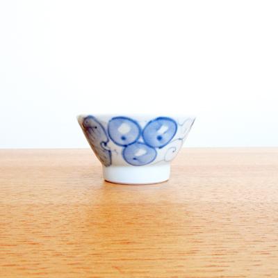 くらわんか茶碗(ぶどう柄)